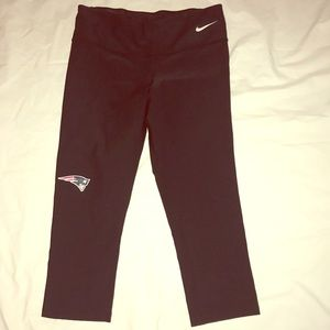 Nike Patriots black leggings